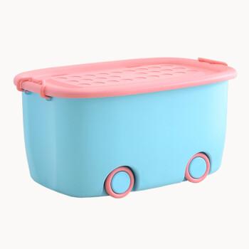 貿易号生活プリンスティーク整理箱アニメローラー収納箱おもちゃ収集整理箱ブルーサイズ:48*32*26