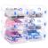 耐奔9個入り透明靴箱カバー式の厚い手ブラケース収纳靴箱箱箱箱整理箱箱箱箱青ボタン9個入りです。