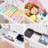 Nafenai引出し式収納司司司ストセット簡易収納棚プレスクおもちゃ収納箱多機能ロッカー肥厚手60 cmフラミンゴ6階