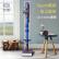 グリーGlek De森掃除機サポートv 6 v 7 v 10 dson掃除機床に置く物置棚收納整理機掃除機収納棚(ホワイトアップグレードタイプ)