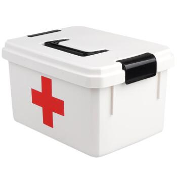 侑家良品整理箱医薬箱家庭用携帯救急箱回収箱の大型サイズ