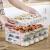 香柚町冷凍ギョーザ箱収納ボックスの家庭用冷蔵庫の冷凍冷蔵庫の冷凍ギョーザ箱箱箱タッパーに卵よんしよ層よんしよ蓋緑の水餃子
