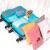 晟艶やかな尚品防水旅行收纳袋旅行李袋出張荷物整理袋衣類收纳バッグバッグブルー10点セット