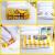B.DUCKイエエロダンク厚手真空収納圧縮袋14点セットの電気ポンプ(4特大5中3小1ポンプ1手ポンプ)