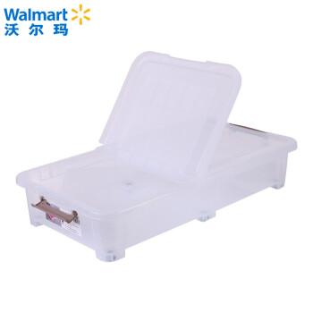 【Walmart】立新カード式ローラーベッドの底の箱の整理箱DW 8095 36 L 46*85*16.5 CM