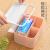 イタリアのココア(ecoco)創意的なデスクトップティッシュボックス客間茶何收纳箱ティッシュボックス事務室プラスティックケース北欧グリーン