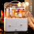 化粧品収納ボックスの大規模防塵化粧箱引き出し式デスクトップ収納ボックス【女王ツンデレ灰】