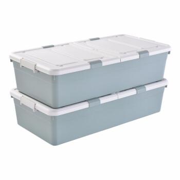 BELOプロラクは大きなベッドの下に服を収納する大きなサイズのベッドがあります。布団を整理して箱のおもちゃの衣類を整理します。箱の大きいサイズの緑色の高いタイプの2つがあります。(93.5*47*24)