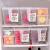 菊の葉日本冷蔵庫プリンスティーク収納ボックス4.7 L 4個入り果物の鮮度保持ケース大容量キッチン食品冷凍ロッカー