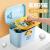 Vilscijon Vilscijon家庭用医薬品箱多機能収納箱薬品収納箱プラスティック多層ロッカー6661青色
